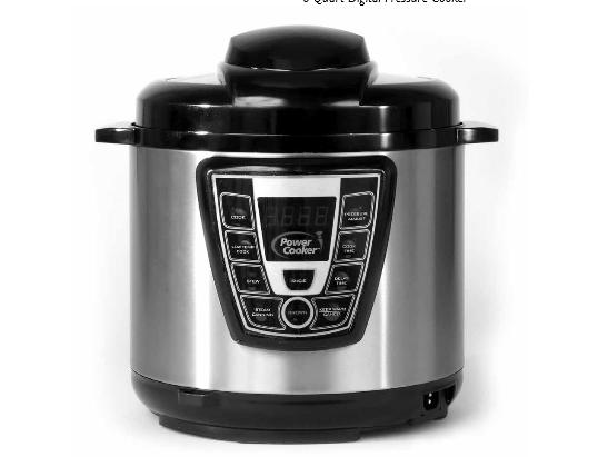 innova pressure cooker instruction manual