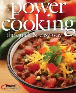 Power Cooker Pro XL Electric Pressure Cooker Recipe Cookbook