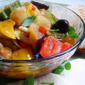 Pressure Cooked Sicilian Summer Vegetable Medley – Caponatina
