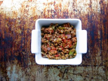 Bright & Tasty Pressure Cooker Lentils