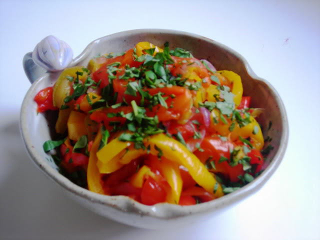 Pressure Cooker Peperonata ~ hip pressure cooking