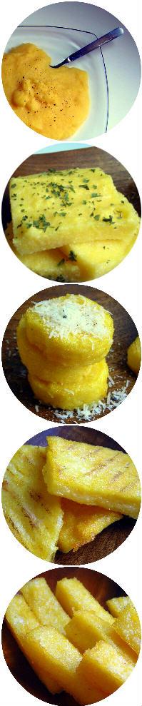 Pressure Cooker Polenta 5-ways
