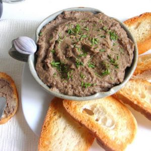 Italian Chicken Liver Pate' Spread – pressure cooker recipe