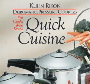 Kuhn Rikon Pressure Cooker Manual Recipes