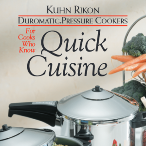 Kuhn Rikon Pressure Cooker Manual Recipes
