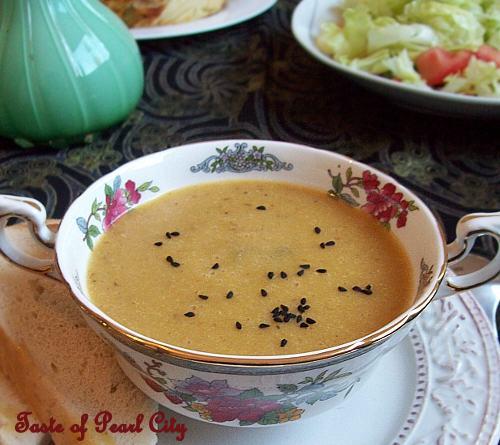 Turkish Pressure Cooker Soup