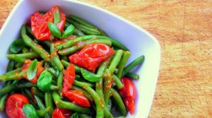 Southern Italy: Tomato Stewed Green Beans