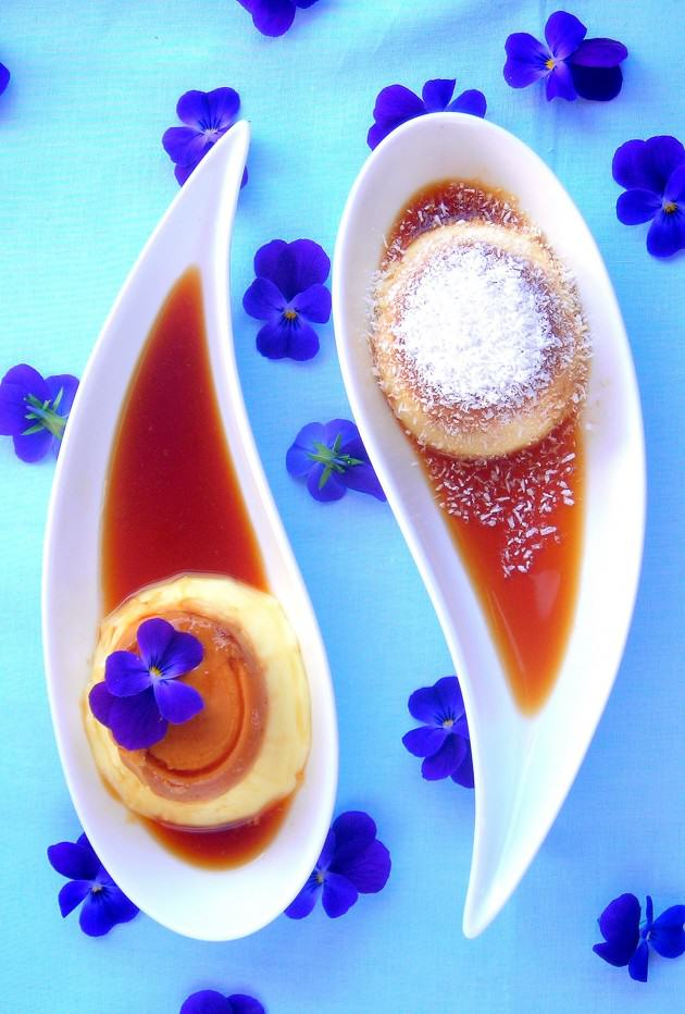 Pressure Cooker Creme Caramel -  Easy & Chic
