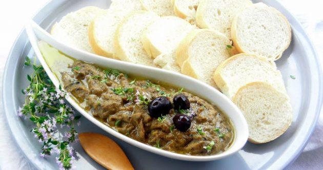 pressure cooker eggplant spread (baba ganush -inspired)