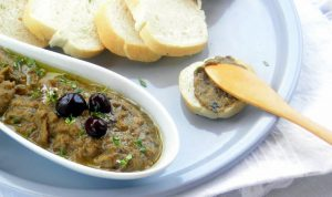 Scorch it! Smoky Baba Ganoush Eggplant Spread