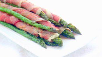 Prosciutto-wrapped Asparagus Canes