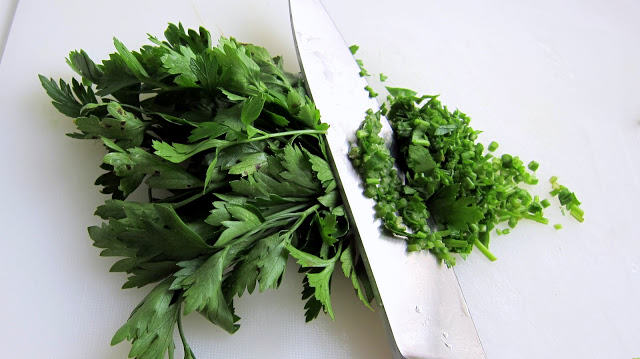 use fresh herbs