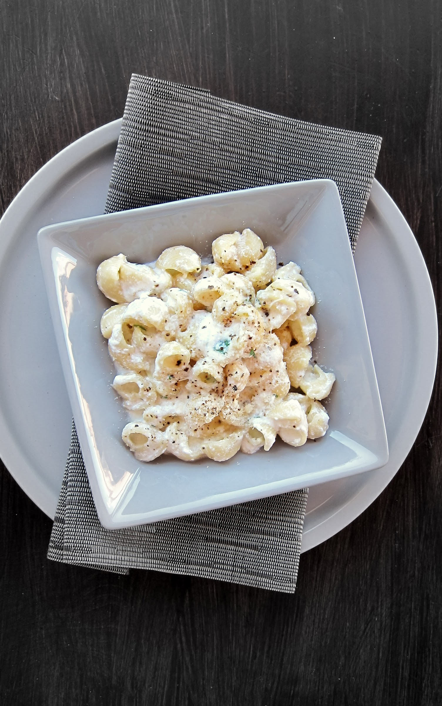 Pressure Cooker Mac and Cheese Italian Style!