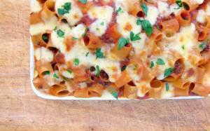 Pressure Cooker Pasta Casserole! A Cheesy, Meaty, Mess!