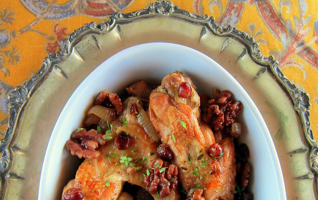 Cranberry Braised Turkey Wings Pressure Cooker Recipe