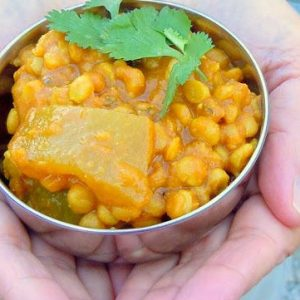 Reader Recipe: Nilam's Split Pea and Calabash Squash Curry