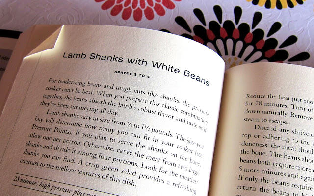 Lorna Sass's Pressure Perfect Lamb and Bean pressure cooker recipe page