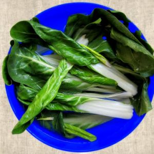 Clean, Cut and Pressure Cook Bok Choi