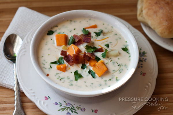 ... soup is the perfect antidote for the waning crispy evening dinner