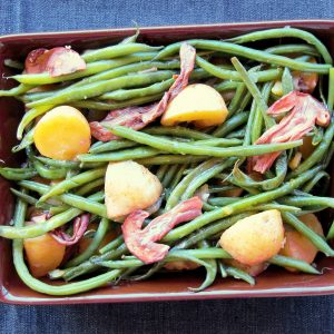 Potato & Porcini Green Bean Salad OR Casserole!