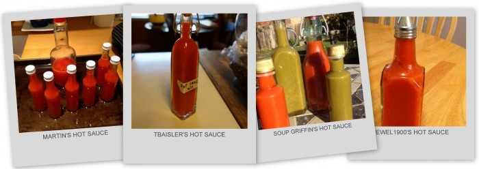 Pressure Cooker Hot Sauce Collage