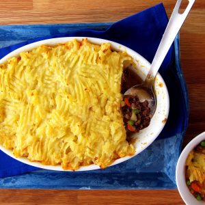 Comfy Cottage Pie – Speedy Brit Comfort Food