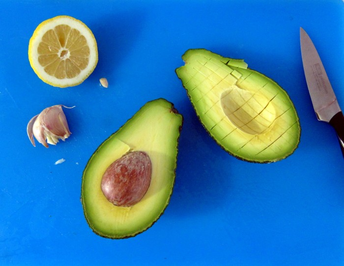 Make guacamole and set aside.