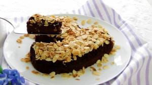 Borlotti Bean Brownie Cake - for the LOVE of beans!