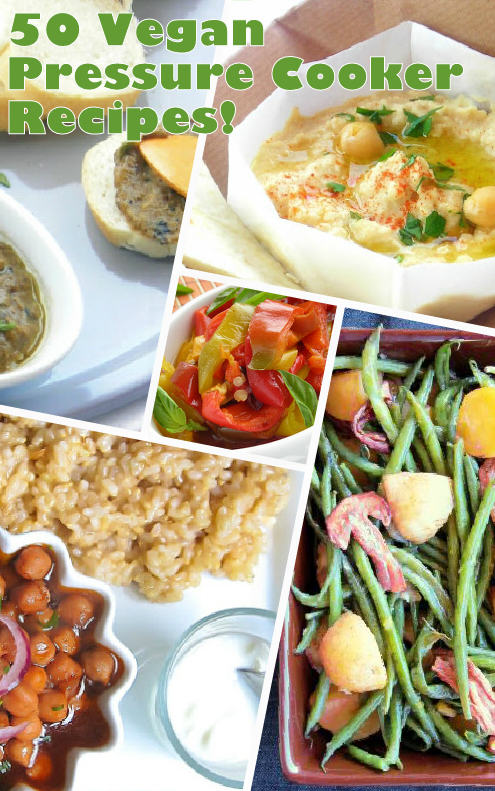 Easy vegan pressure cooker recipes
