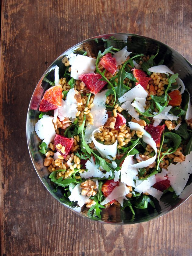 Old Is New Again Kamut Arugula Amp Orange Salad Hip