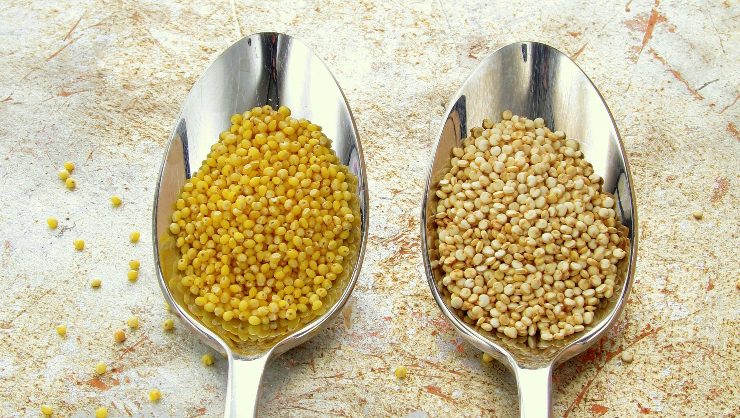 how to cook millet in a pressure cooker