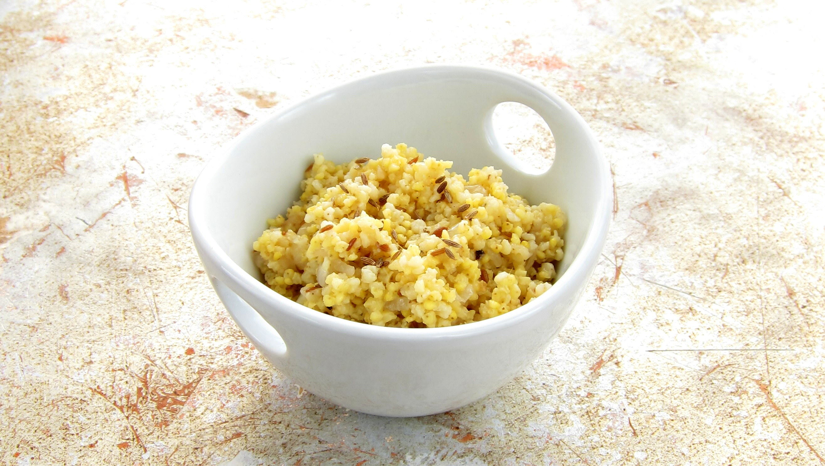 Millet! It's the new quinoa. ~ hip pressure cooking