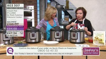Instant Pot QVC UK Pressure Cooker Demo
