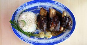 Pressure Cooker Beef Ribs Braised in Soy Sauce