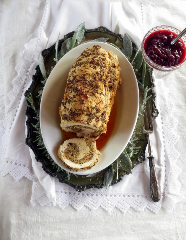 Easy Stuffing Stuffed Turkey Breast Roast • hip pressure cooking