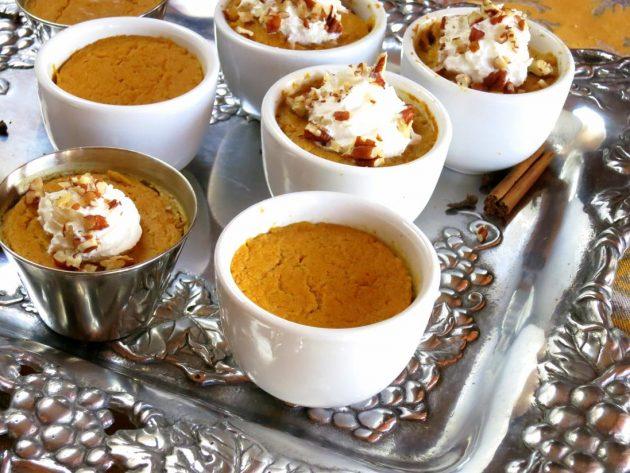 Pressure Cooker Pumpkin Pie
