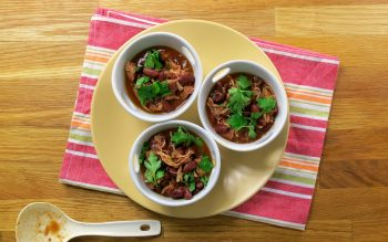 VIDEO: Red Bean and Turkey Chili