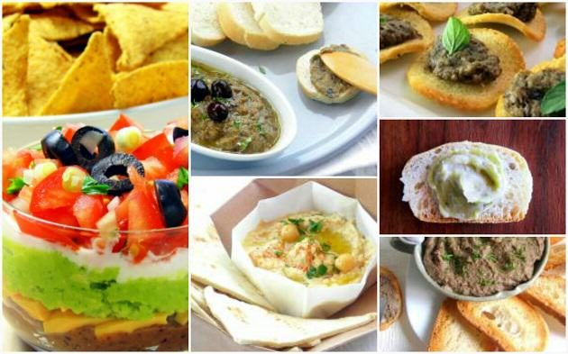 Pressure Cooker Dip Collage