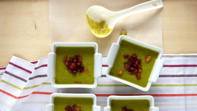 Pressure Cooker Split Pea & Bacon Soup
