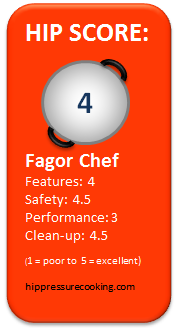 hip score: Fagor Chef 4