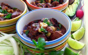 Easy Posole One Pot - pork & hominy stew makeover