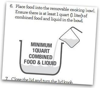 Breville Fast Slow Pro Minimum Liquid Requirement