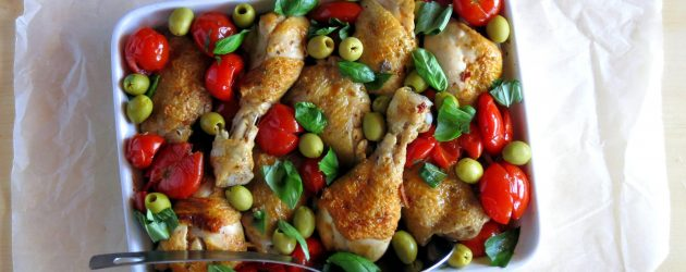 Pressure Cooker Chicken Cacciatore Recipe