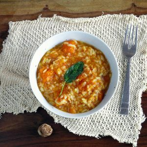 Sage & Nutmeg Butternut Squash Autumn Risotto