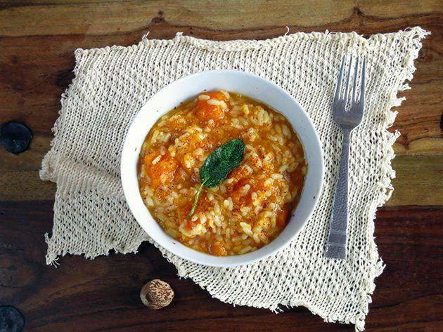 Butternut Squash Risotto - pressure cooker recipe!