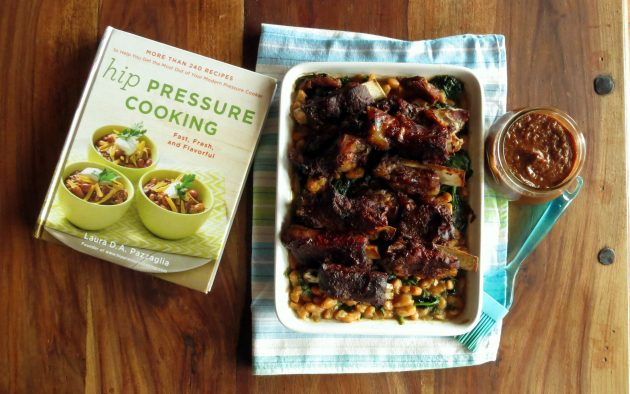 BBQ Ribs Recipe from the cookbook Hip Pressure Cooking: Fast, Fresh & Flavorful