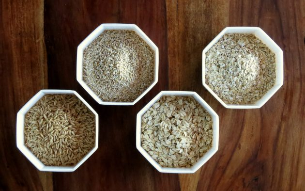 pressure cooker oatmeal types