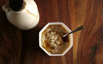 Maple Steel-cut Oats - Pressure Cooker Oatmeal