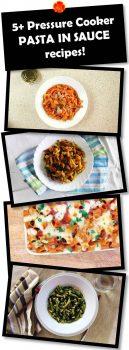 LOTSA PASTA - pressure cooker recipes