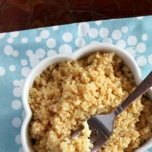 Basic Recipe: Pressure Cooker Quinoa